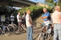 Radtour der IG BCE Ortsgruppe Halle nach Bad Dürrenberg (4. September 2012) - Treffpunkt: Halle Rosengarten