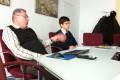 Ein Gruppe ukrainischer Gewerkschaftler war vom 21.-23.11.2011 in Halle zu Gast