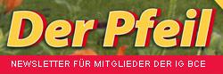 Der Pfeil - Newsletter für Mitglieder